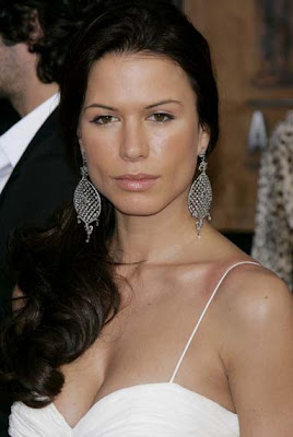 Rhona Mitra Sterling Chandelier Earrings