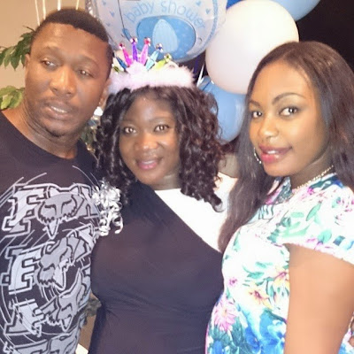 Photos From Mercy Johnsons Baby Shower In The Usa Gistmania