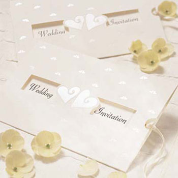 Several loving and executive wedding invitations are also appealing