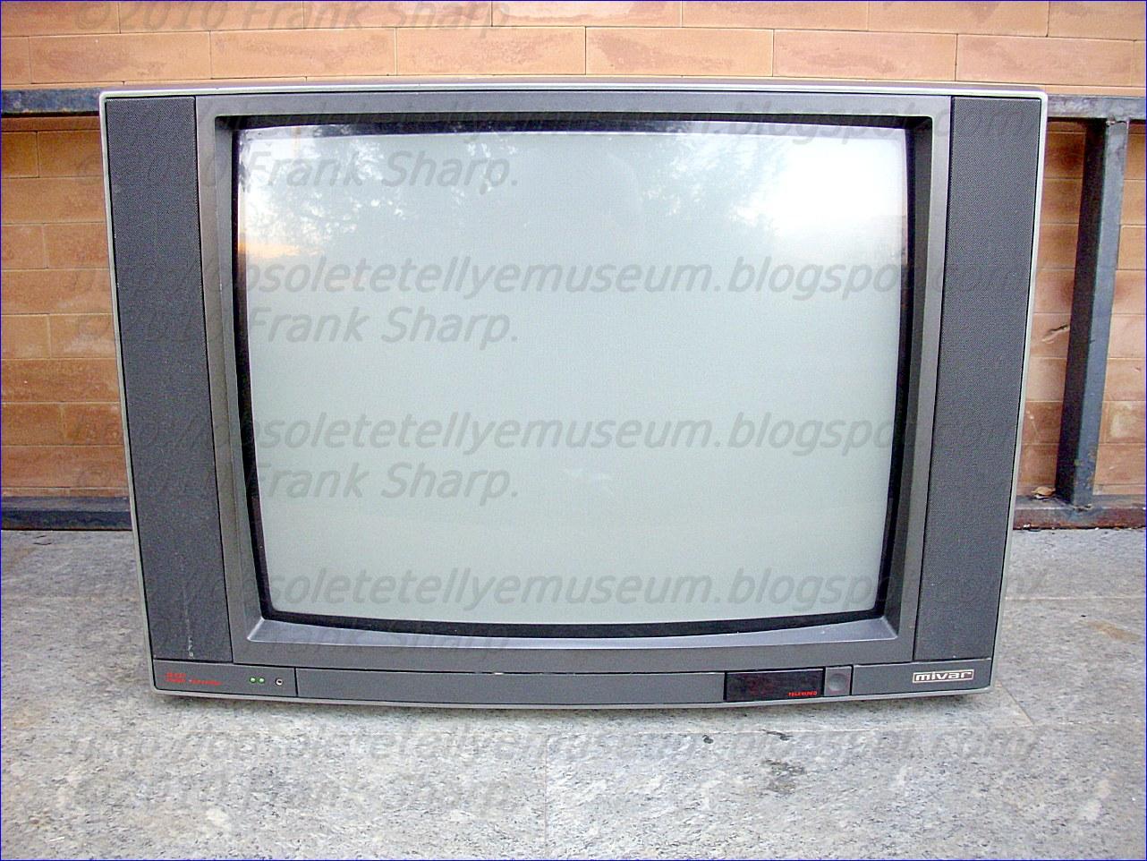 Obsolete Technology Tellye !: MIVAR 28C2L STEREO YEAR 1989.