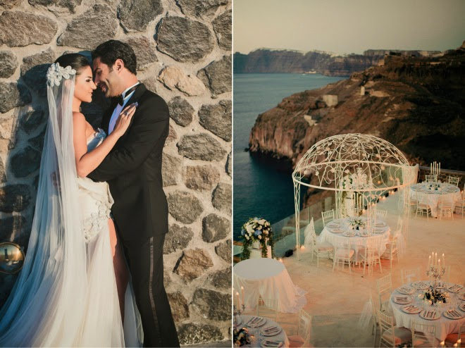 Extravagant Wedding Dresses 49 Awesome Extravagant Santorini Wedding