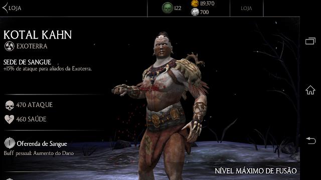 Kotal Khan de prata level 1 - Mineira sem Freio