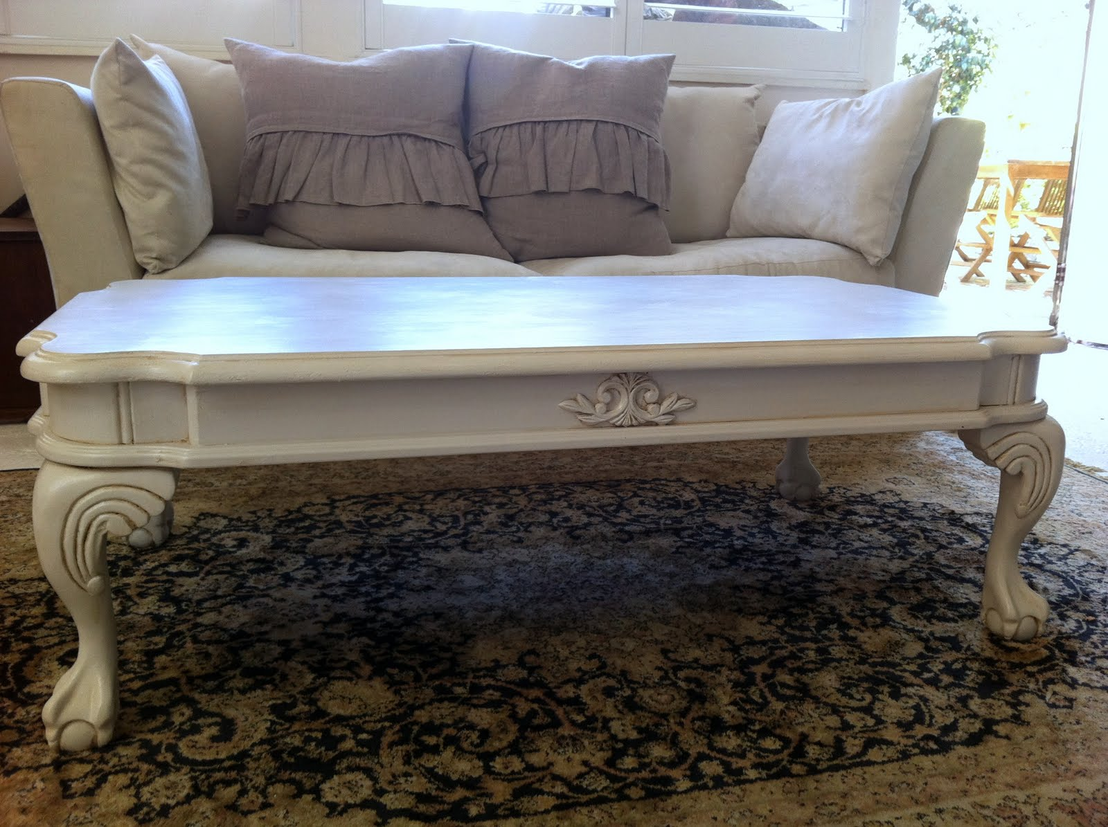Unique My French Inspired Coffee Table for sale