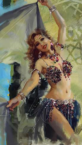 Soltar o corpo é libertar a alma, faça dança do ventre