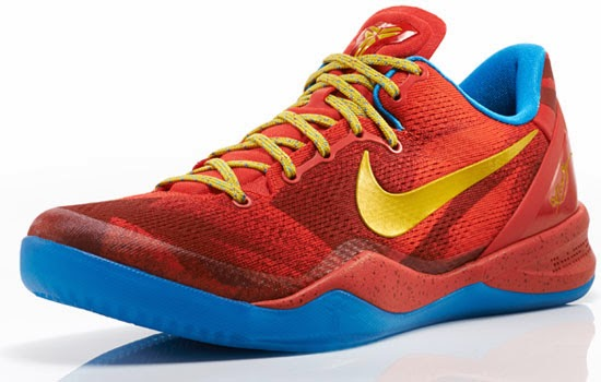 The latest colorway of the Nike Kobe 8 System was made to commemorate the 2014 Chinese New Year, the Year of the Horse. This \u0026quot;YOTS\u0026quot; edition comes in a light ...