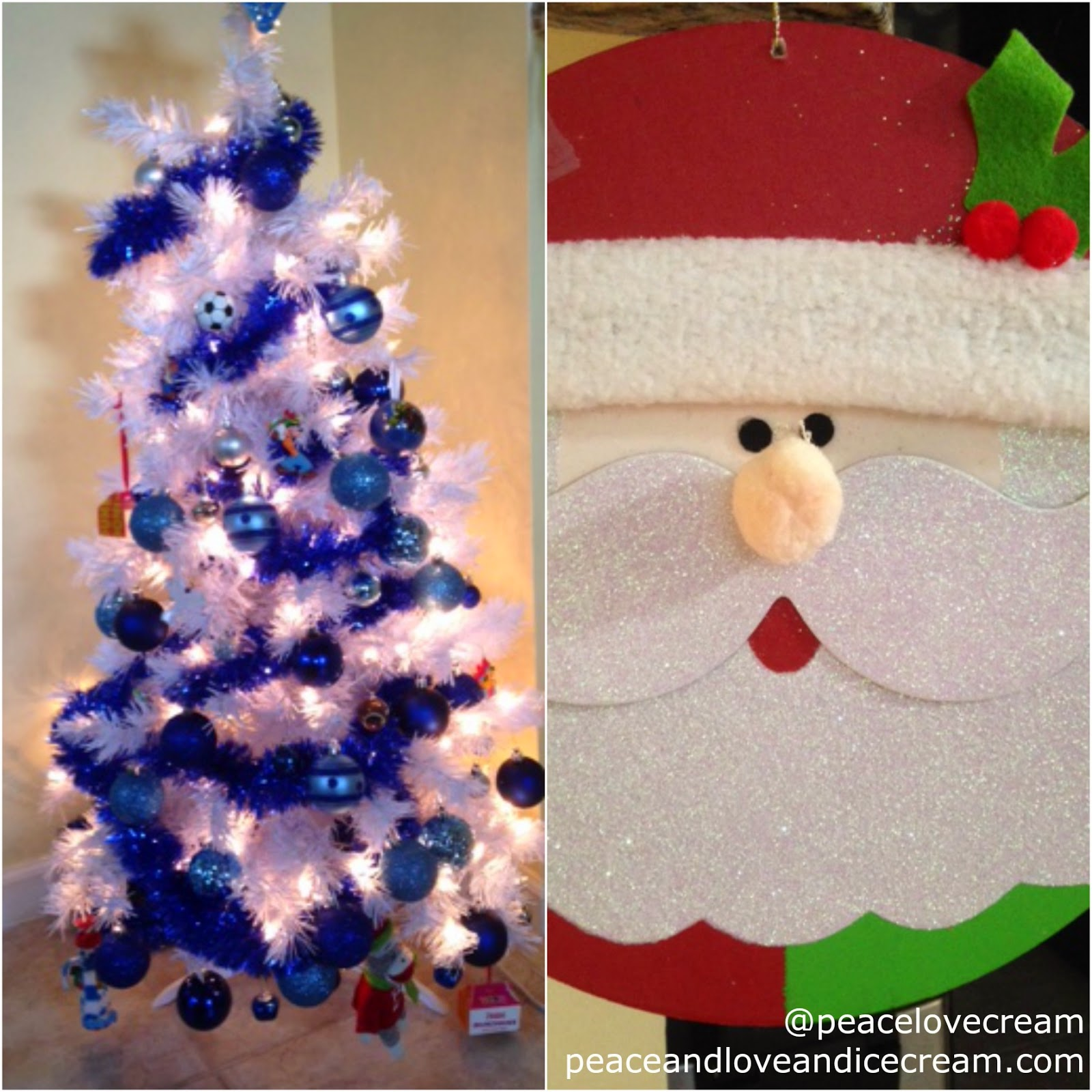 Hanukkah ornaments for a tree - This Year We Have A 4 Ft Hanukkah Bush That Looks A Lot Like A White Christmas Tree With Mostly Blue Ornaments We Do Have Personalized Stockings And