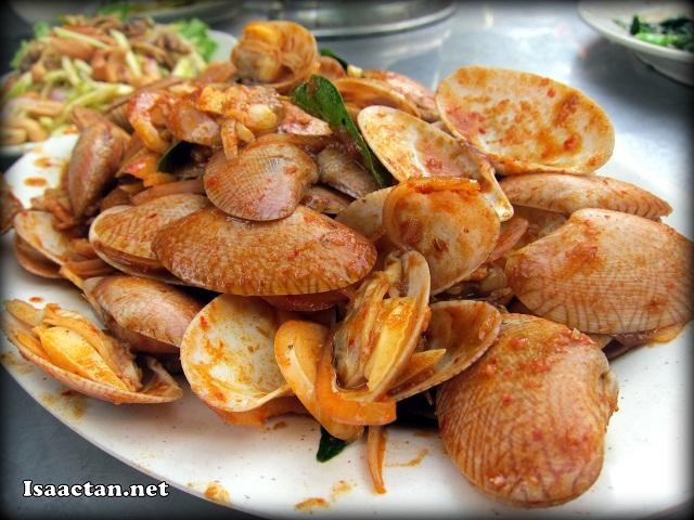 Stir Fried Kam Heong Lala - RM19.80