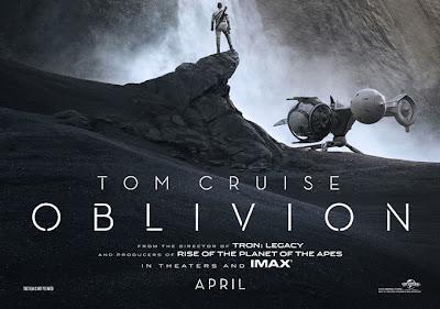 Portada de la película Oblivion