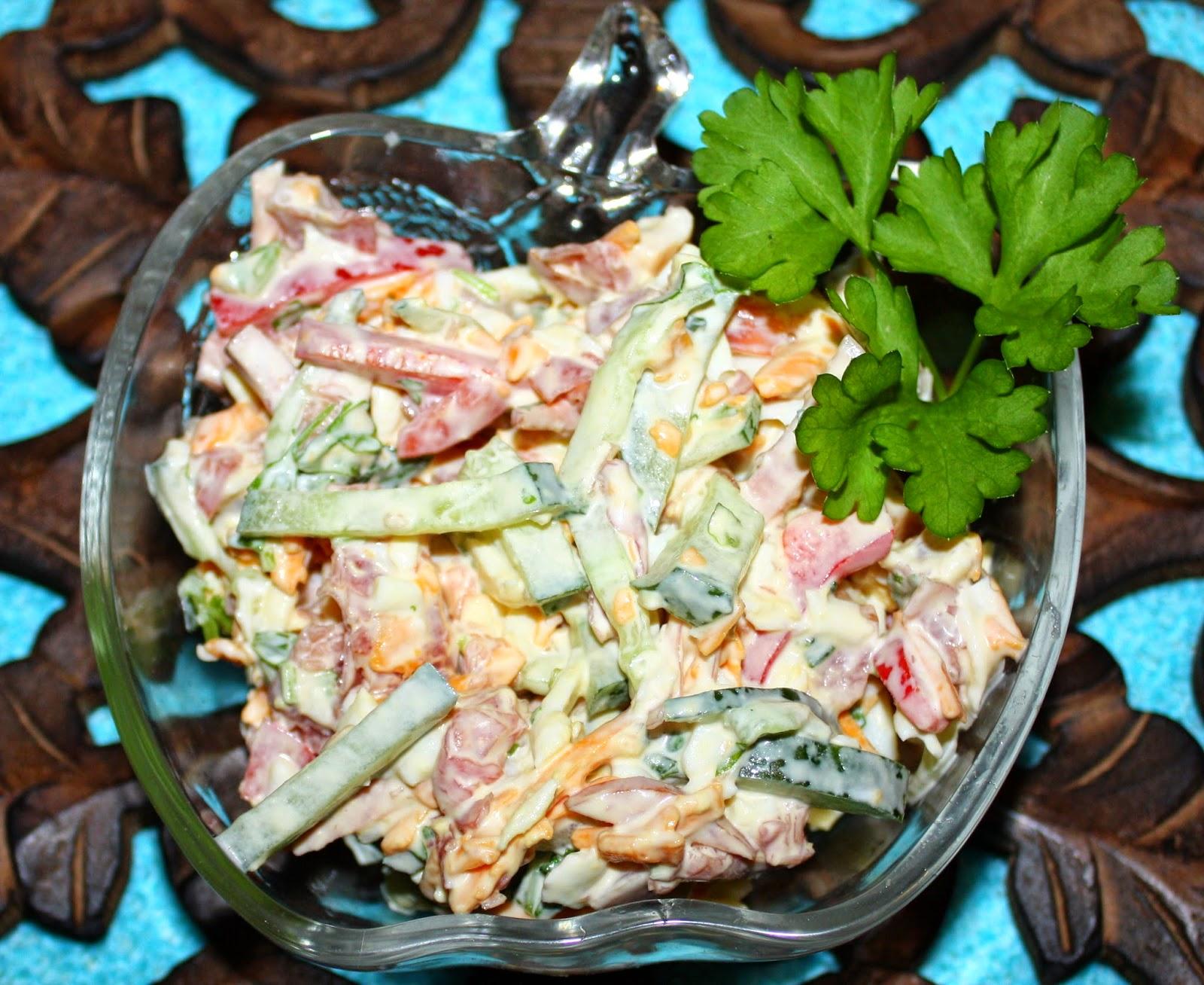 Салат берлинский с мясом рецепт