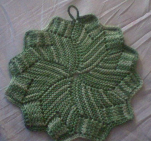 Knitted Coasters Free Patterns : Knit coaster pattern