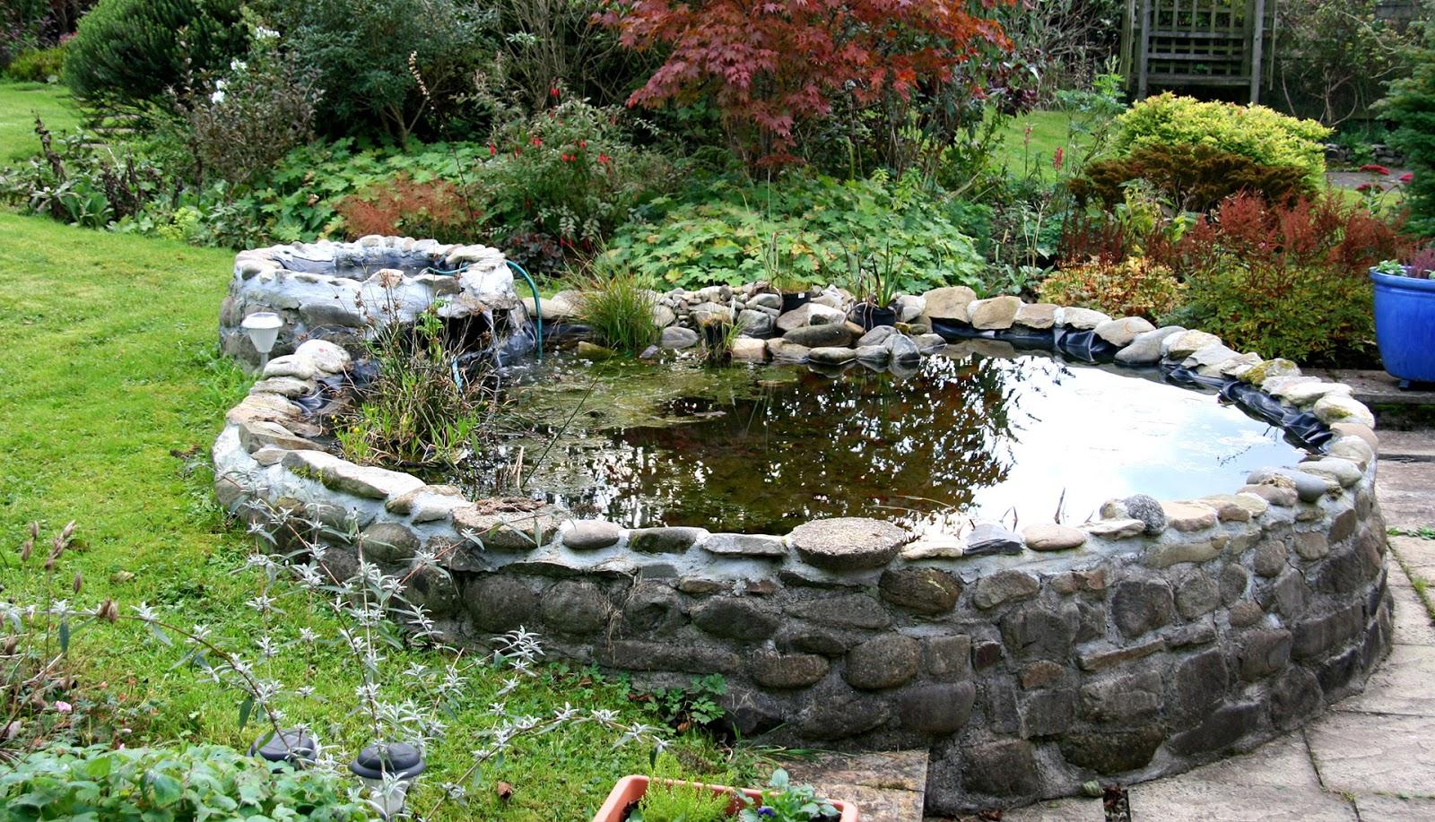 Сделать фонтан или мини пруд своими руками