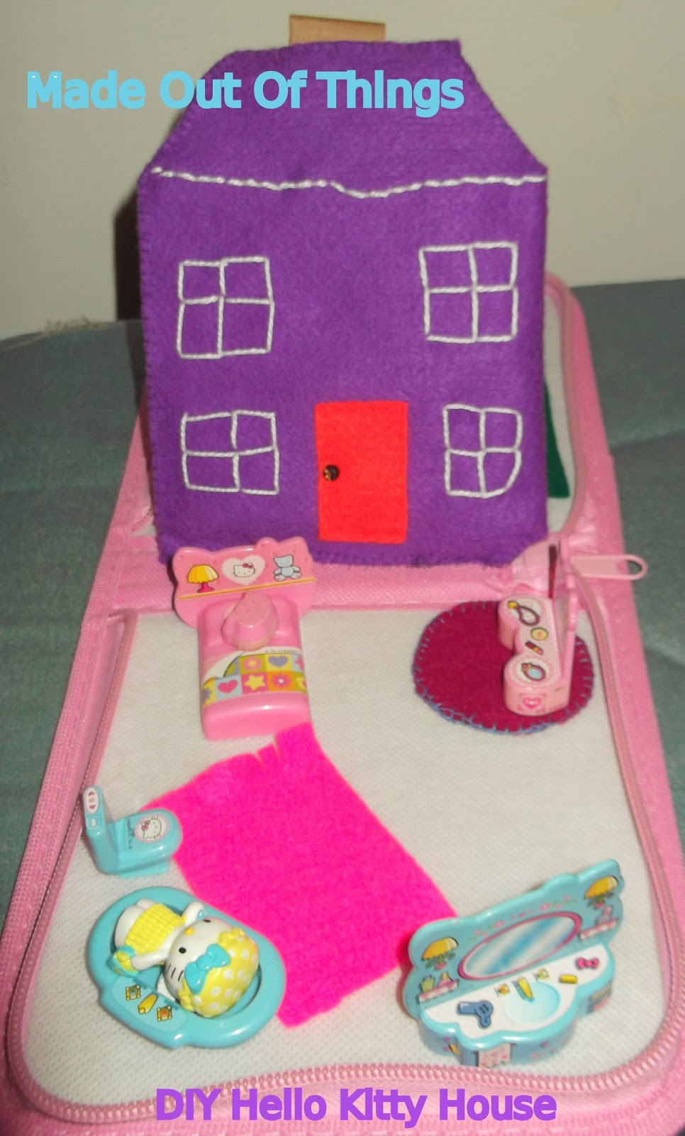 Made Out Of Things Diy Hello Kitty House