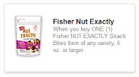 Fisher Nut Exactly coupon