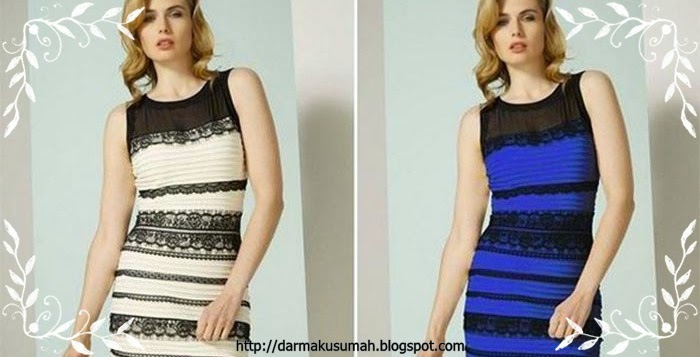 Black and Blur or White and Gold
