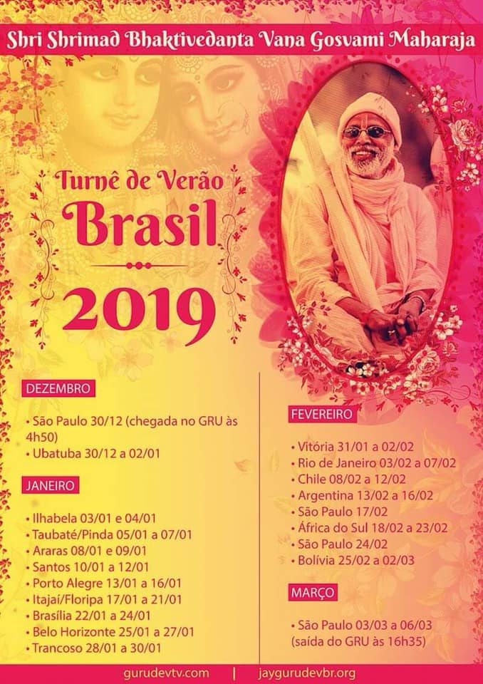 Turnê Brasil 2019