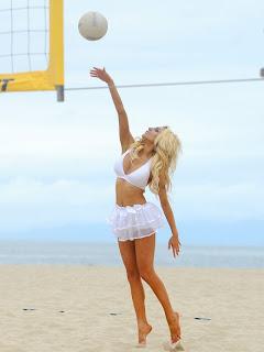 Courtney Stodden Pics, Courtney Stodden beach volleyball