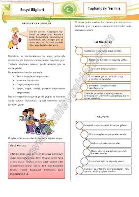 Sosyal bilgiler 1 ünite haklarımı öğreniyorum ders notları 3