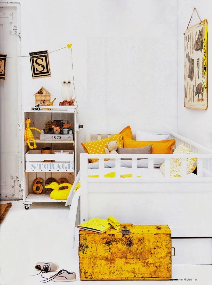 Decoraci n f cil un dormitorio infantil vintage con - Dormitorios reciclados ...