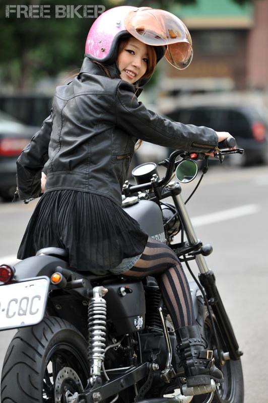 Free Biker Magazine: Chick Biker