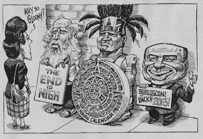 Vignetta de The Economist Berlusconi ritorna