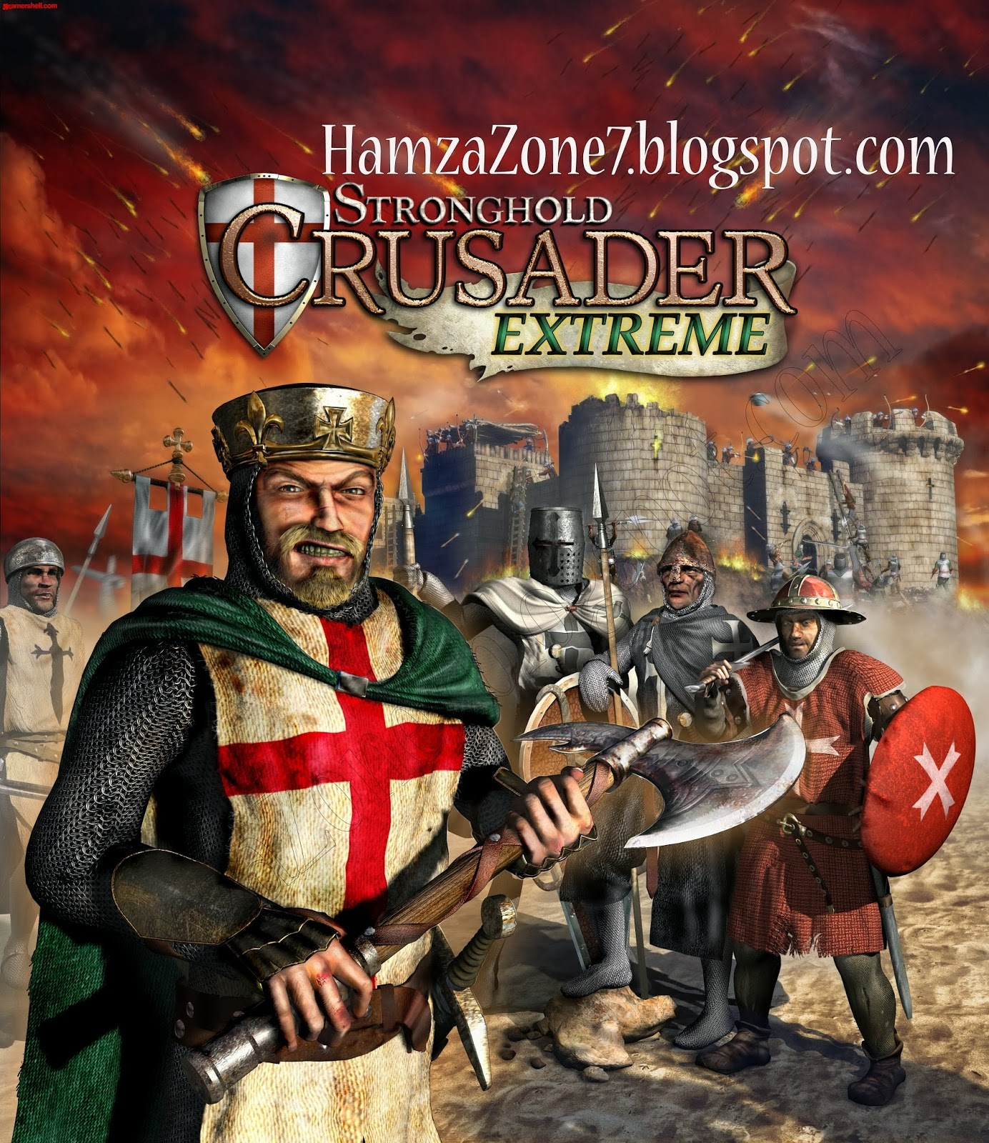 Stronghold Crusader Extreme Compressed PC Game Free Download