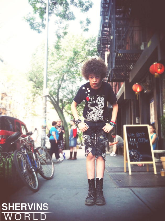 hipster kid, hipsters in NY, cool street fashion