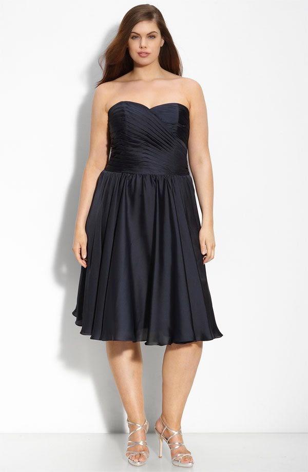 Most Flattering Plus Size Bridesmaid Dresses Bridal Fashion Trend