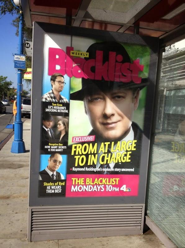 The Blacklist season 2 US Weekly magazine homage poster