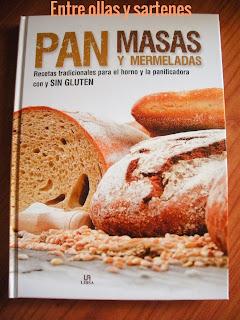 Nuevo libro recetas Panes, Masas y Mermerladas de Panificadora Lidl.