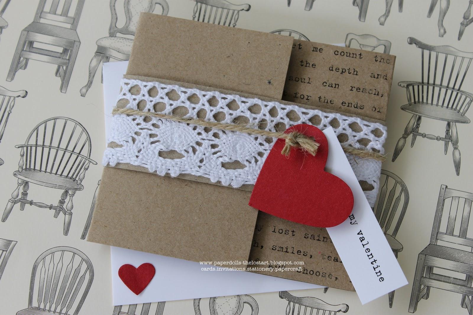 paperdollsweddings: Vintage Valentine Wedding Invitation