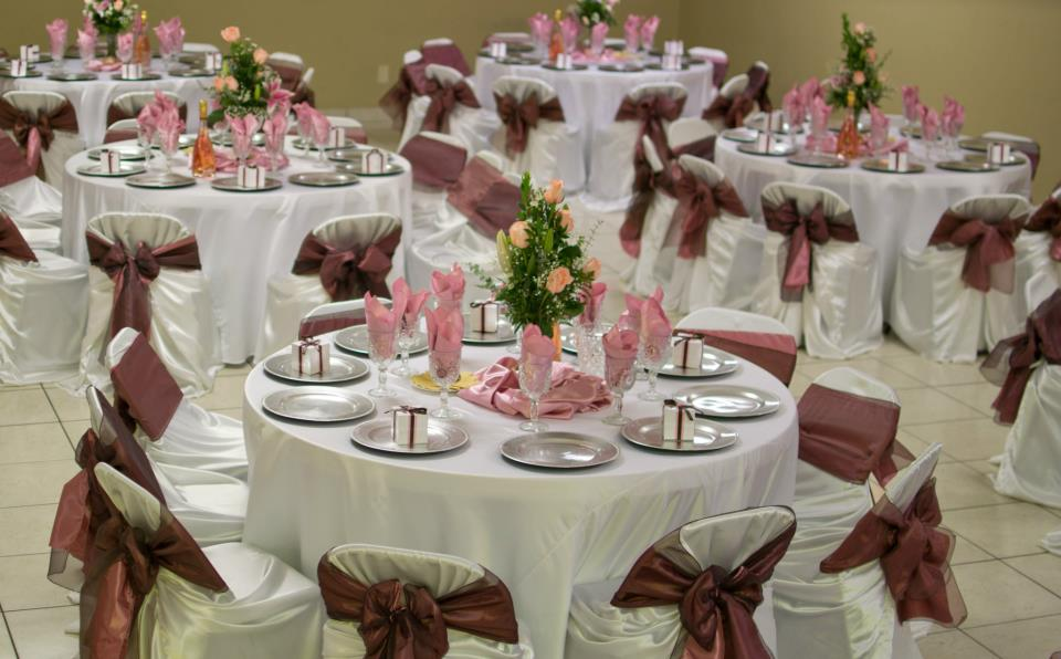 Quinceanera Hall Decorations Pink Rincon Real Hall Decor...