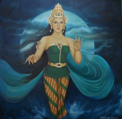 Legenda Ratu Pantai Selatan - Nyi Roro Kidul