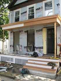 An Urban Cottage Greek Revival Exterior Renovation