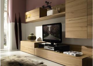Decoração de espaços pequenos, móveis