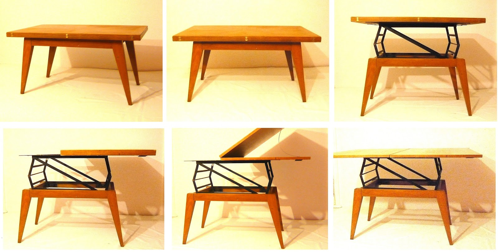 Art utile albert ducrot table r v lation - Table rehaussable but ...