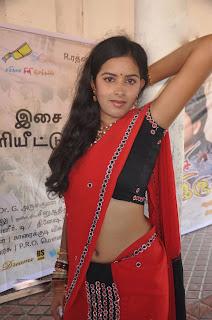 hot tamil actress navel show in saree pics