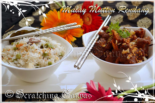 Malay Mutton Coconut Gravy Recipe