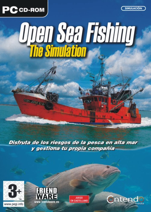 Free download open sea fishing full version games rip for Sea fishing games