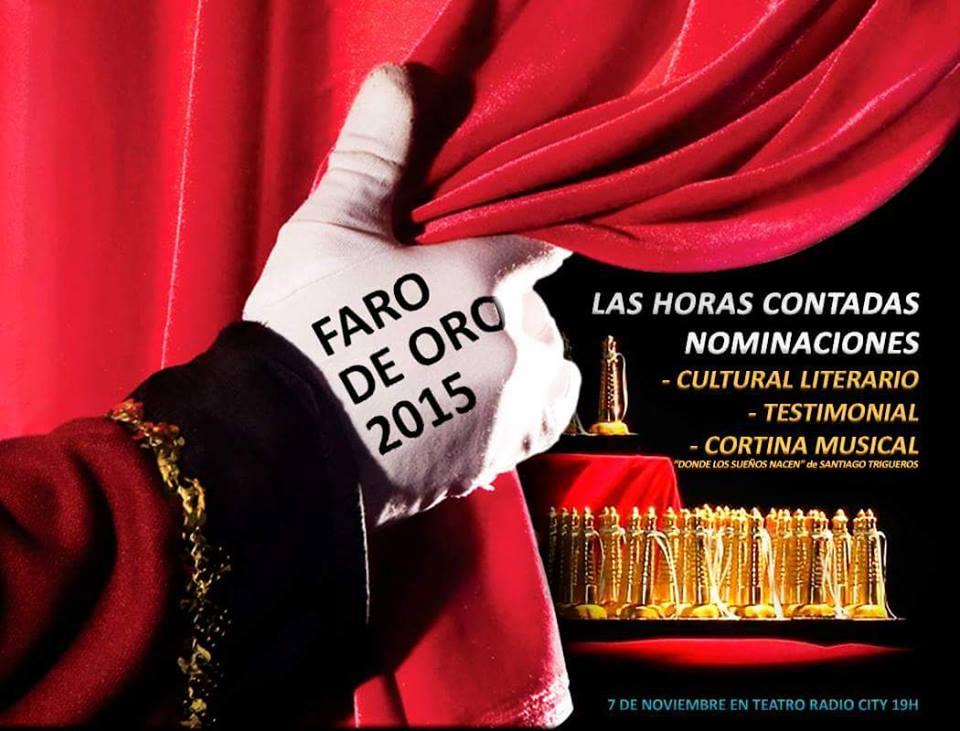 PREMIO NACIONAL FARO DE ORO 2015