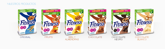 Cereales Fitness de Nestle
