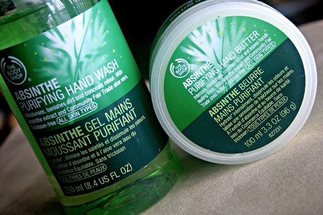 The Body Shop Spring 2013 Collection Absinthe Hand Butter and Hand Wash