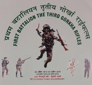 First Battalion of the Third Gorkha Rifles bicentenary