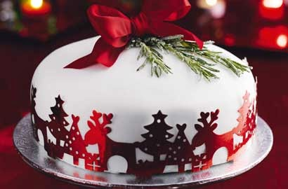 Cake Decorating Holidays Uk : WONDERLAND: CHRISTMAS CAKE DECORATING IDEAS