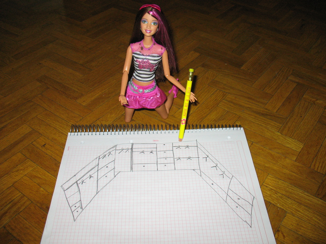 Mi Mundo Barbie Como Hacer Ropero Para La Barbie