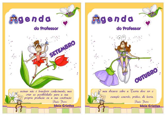 Agenda do Professor 2013 Ideia Criativa para