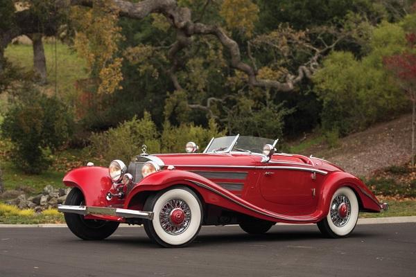 El Mercedes Benz 540 K Special Roadster 1937 alcanzó los 9.9 millones de dólares