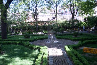 Madrid amanece for El jardin del principe