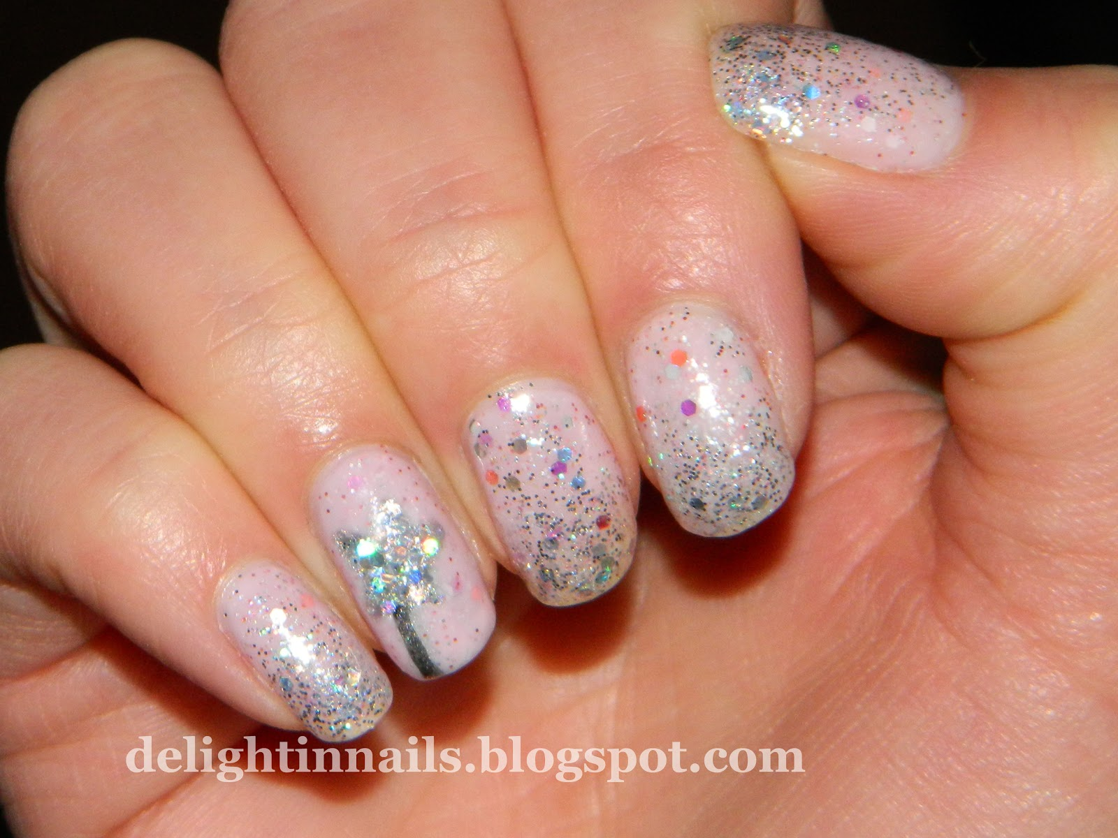 Delight In Nails Nail Aween Nail Art Challenge Witch Nail Art