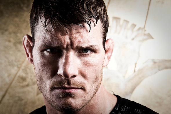 ufc mma middleweight fighter the count michael bisping picture image