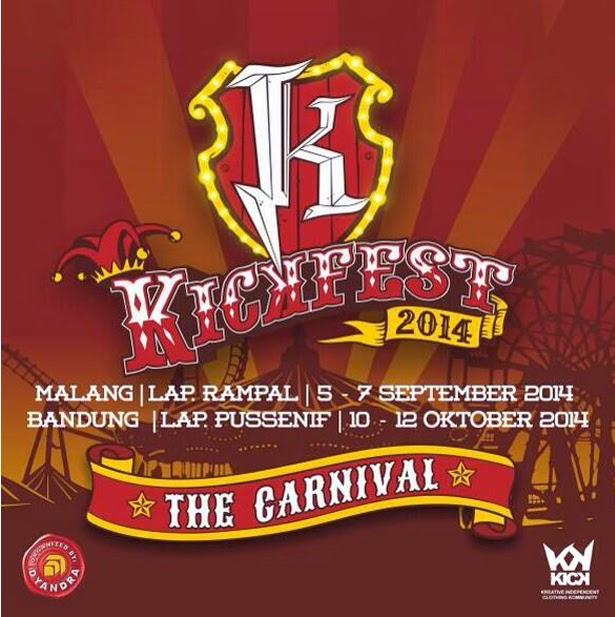 Kickfest 2014 Malang Bandung